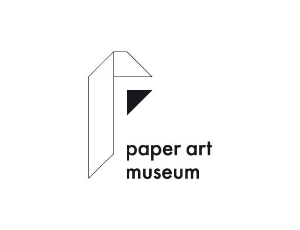 Museum Of Arts And Design Logo : Paper art museum logo design inbal tal
