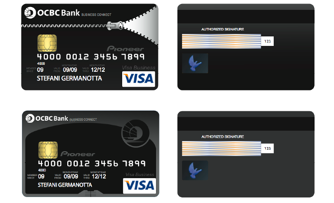 Live project designing design of devin japiter credit card competition design for ocbc bank stopboris Image collections