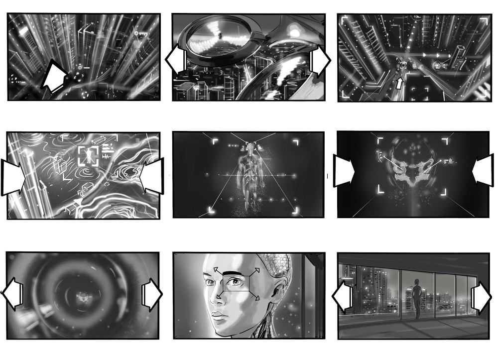 Storyboards - Richard Buxton Art & Design